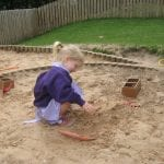 New Sand in our Giant Sand Pit!