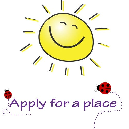 Apply for a place